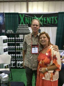 X Nutrients CEO Elizabeth Thompson With Ed Rosenthal